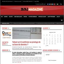 ZATAZ Yahoo! va-t-il confirmer un piratage de sa base de données ? - ZATAZ