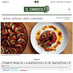 Confit byaldi: la ratatouille de 'Ratatouille'