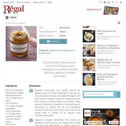 Confit d'oignons - Régal