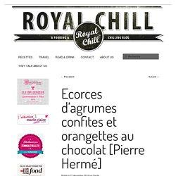 Ecorces d'agrumes confites et orangettes au chocolat [Pierre Hermé]