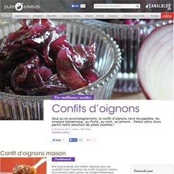 Confits d'oignons - Tradition