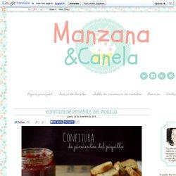 Manzana&Canela: Confitura de pimientos del piquillo