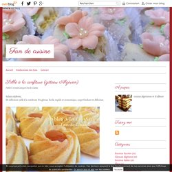 Sablé à la confiture (gâteau Algérien) - Fan de cuisine