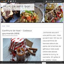 Confiture de Noel - Cadeaux gourmands 2016
