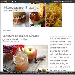 Confiture de pommes cannelle gingembre et vanille