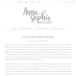 Confiture pomme-orange-cannelle
