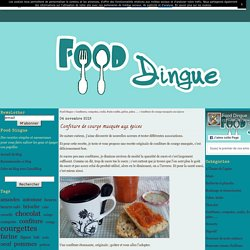 Confiture de courge musquée aux épices - Food Dingue