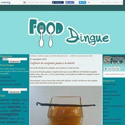 Confiture de courgettes jaunes à la vanille - Food Dingue