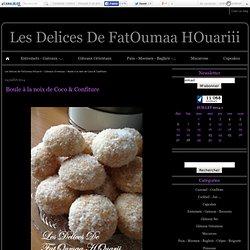 Boule à la noix de Coco & Confiture - Les Delices De FatOumaa HOuariii
