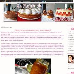 Confiture de Potiron au Gingembre Confit (& sucre Rapadura) - Le Plaisir du ChOcoOolat... !