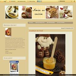 Confiture de Noël - Le blog de novice en cuisine
