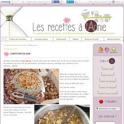 Confiture de noix - Les recettes à l'Annie