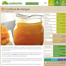 Confiture de mangue au Thermomix - Cookomix