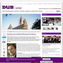 DUB: Psycholoog René Diekstra had in 2004 niet door de Roosevelt Academy benoemd mogen worden tot hoogleraar.