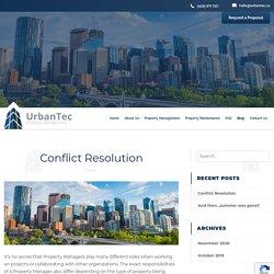 Conflict Resolution - UrbanTec