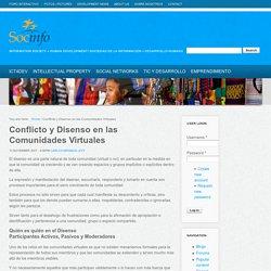 Conflicto y Disenso en las Comunidades Virtuales