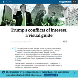 Trump's conflicts of interest: a visual guide