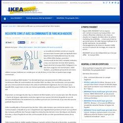 IKEA entre conflit avec sa communauté de fans IKEA Hackers