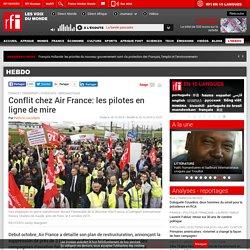 Conflit chez Air France: les pilotes en ligne de mire - Hebdo