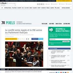 Le conflit entre Apple et leFBI arrive auParlement français
