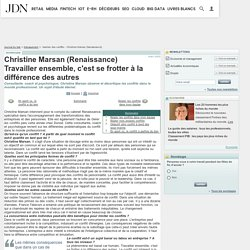 Gestion des conflits : Christine Marsan (Renaissance)