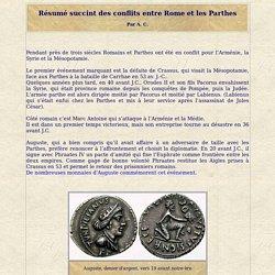 Conflits entre Rome et les Parthes