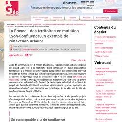 Lyon-Confluence, un exemple de rénovation urbaine
