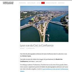Lyon Confluence Photo Aérienne