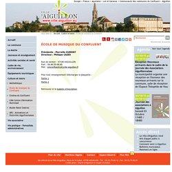 École de musique du Confluent-Aiguillon