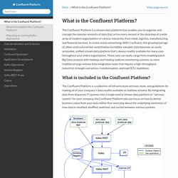 What is the Confluent Platform? — Confluent Platform 1.0 documentation