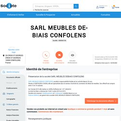 SARL MEUBLES DEBIAIS CONFOLENS-POITIERS Chiffre d'affaires