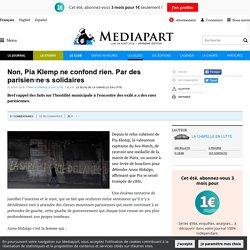 Non, Pia Klemp ne confond rien. Par des parisien·ne·s solidaires
