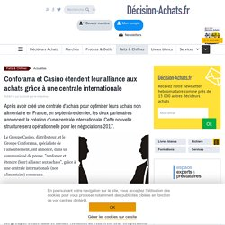 Conforama et Casino étendent leur alliance aux achats grâce à une centrale internationale - Retail