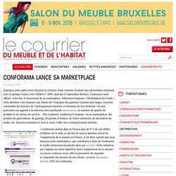 CONFORAMA LANCE SA MARKETPLACE - Le courrier du meuble et de l'habitat