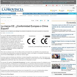 La marca CE: ¿Conformidad Europea o China Export?