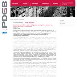 L'audit de conformité en matière de logiciels : de la légitime protection des intérêts de l'éditeur à l'abus de droit-PDGB avocats Paris