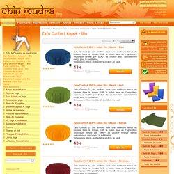Chin Mudra [ Zafu Confort Kapok - Bio ] Boutique en ligne ¤ France