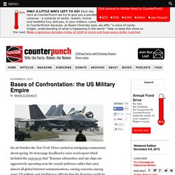 Bases of Confrontation: the US Military Empire