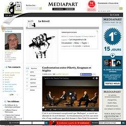 Confrontation entre Piketty, Krugman et Stiglitz