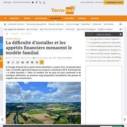 Un modèle agricole français confronté à de multiples difficultés