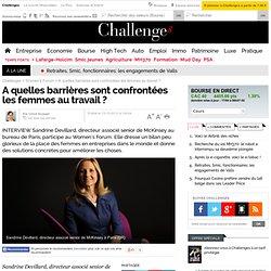 A quelles barrières sont confrontées les femmes au travail ? - 13 octobre 2012
