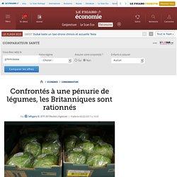 Confrontés à une pénurie de légumes, les Britanniques sont rationnés
