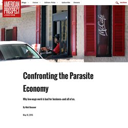 Confronting the Parasite Economy