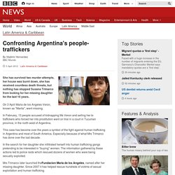 Confronting Argentina's people-traffickers