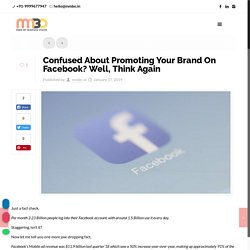 Confused About Promoting Your Brand On Facebook? Well, Think Again