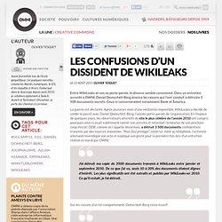 Les confusions d'un dissident de WikiLeaks