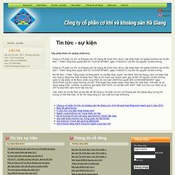 Công ty cổ phần cơ khí và khoáng sản Hà Giang - Tin tức - sự kiện