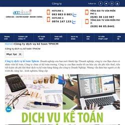 □ Top 1 Công ty dịch vụ kế toán Tphcm giá rẻ năm 2021 - 093 8830883