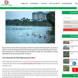 Công viên hồ Thiên Nga Ecopark có gì đặc biệt ?