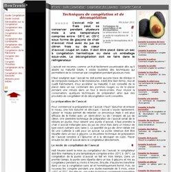 Techniques de congélation et de décongélation